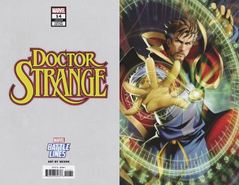 Doctor Strange #14 (Nexon Marvel Battle Lines Cover)