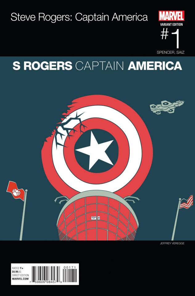 Captain America: Steve Rogers #1 (Hip Hop Cover)