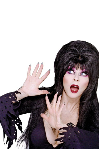 The Shape of Elvira #4 (40 Copy Photo Virgin Cover)