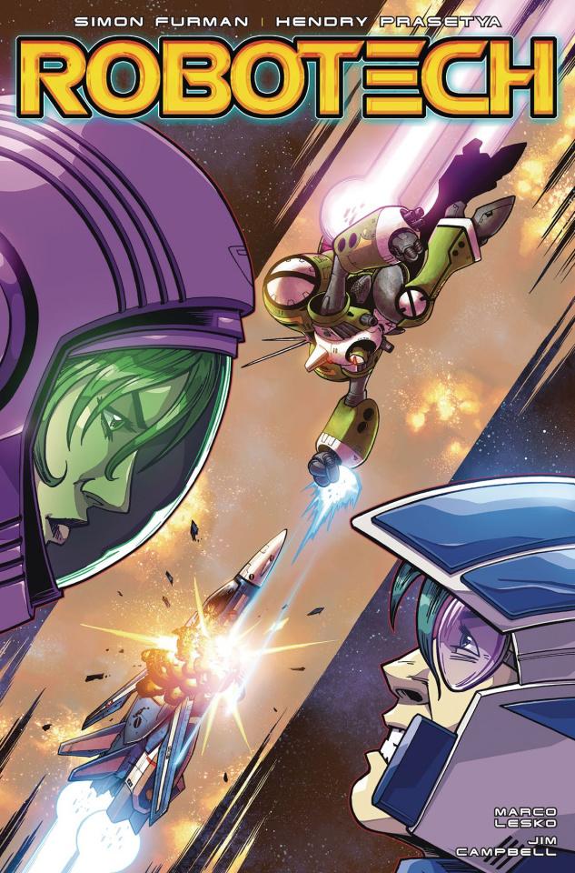 Robotech #15 (Roche Cover)