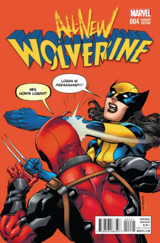 All-New Wolverine #4 (Raney Deadpool Cover)