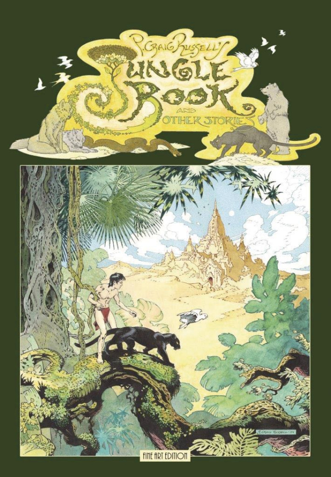 Jungle Book and Other Stories (Fine Art Edition)