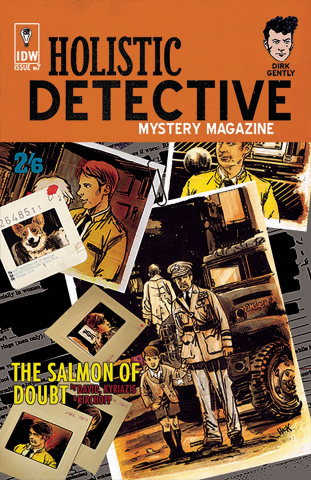 Dirk Gently's Holistic Detective Agency: The Salmon of Doubt #7 (10 Copy Cover)