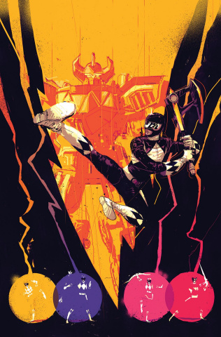 Mighty Morphin' Power Rangers #5 (50 Copy Rossmo Cover)