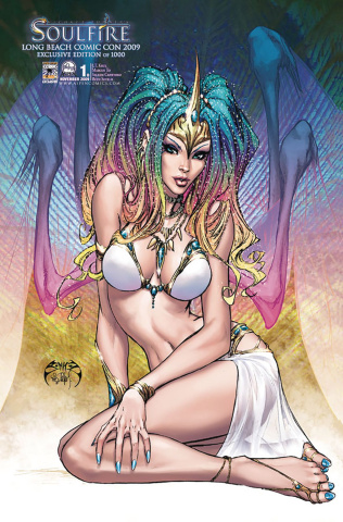 Soulfire #1 (Long Beach CC 2009 Cover)
