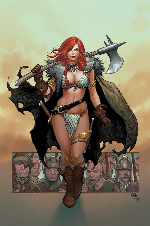 Red Sonja #1 (Frank Cho Virgin Cover)