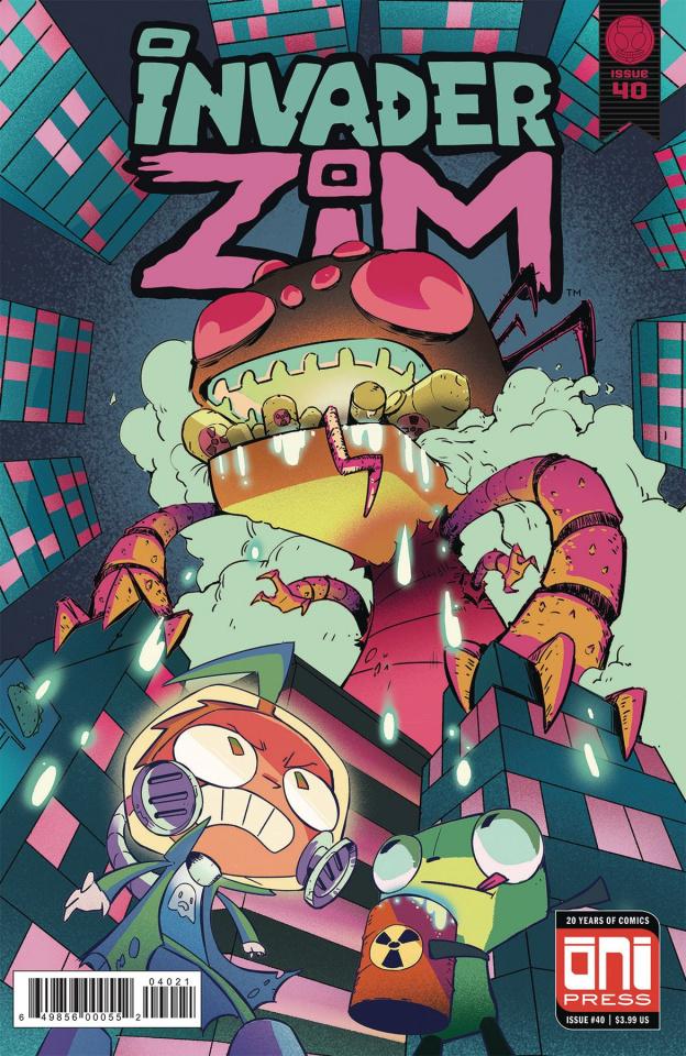 Invader Zim #40 (Park Cover)