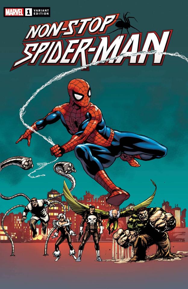 Non-Stop Spider-Man #1 (Laroque Cover)