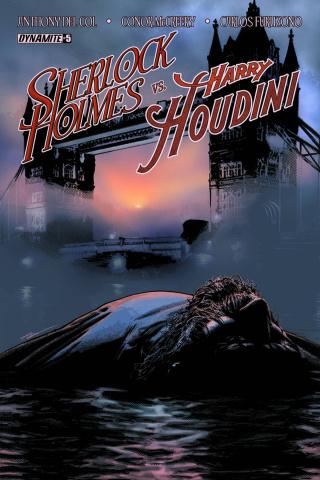 Sherlock Holmes vs. Harry Houdini #5 (Campbell Cover)