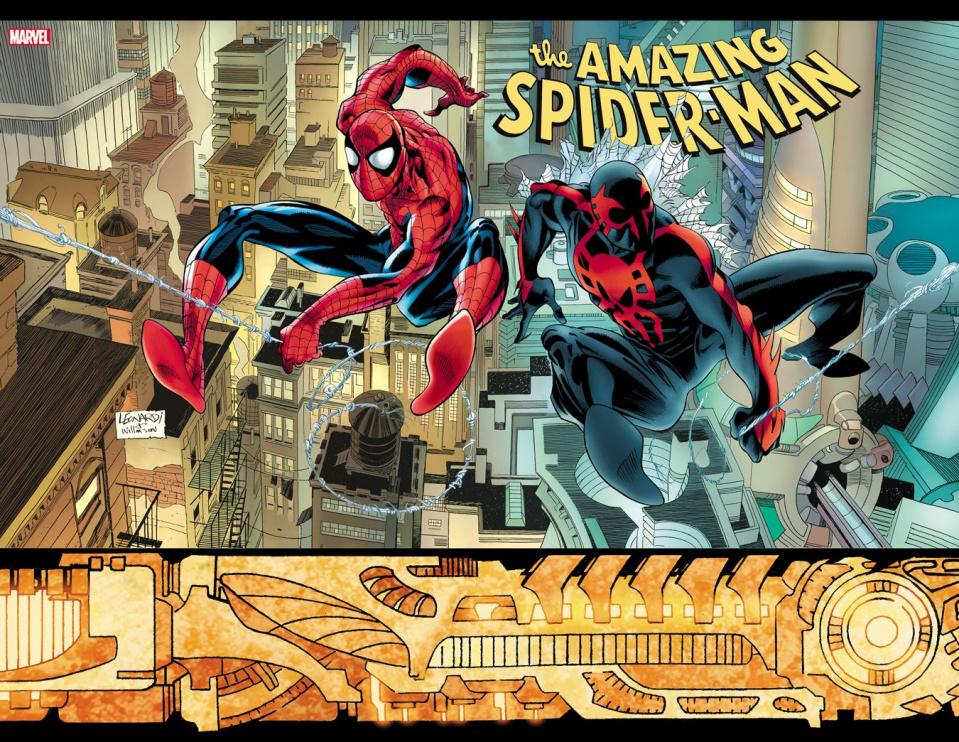 The Amazing Spider-Man #33 (Leonardi Hidden Gem 2099 Cover)