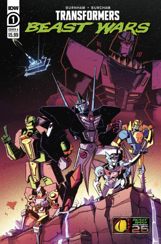 Transformers: Beast Wars #1 (Josh Burcham Cover)
