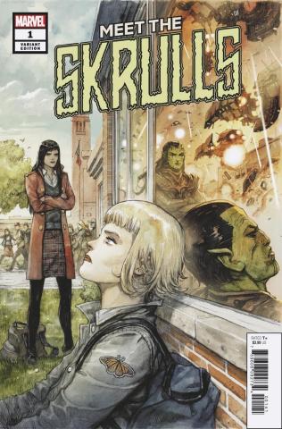 Meet the Skrulls #1 (Henrichon Cover)