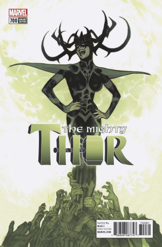 The Mighty Thor #700 (Hughes Cover)