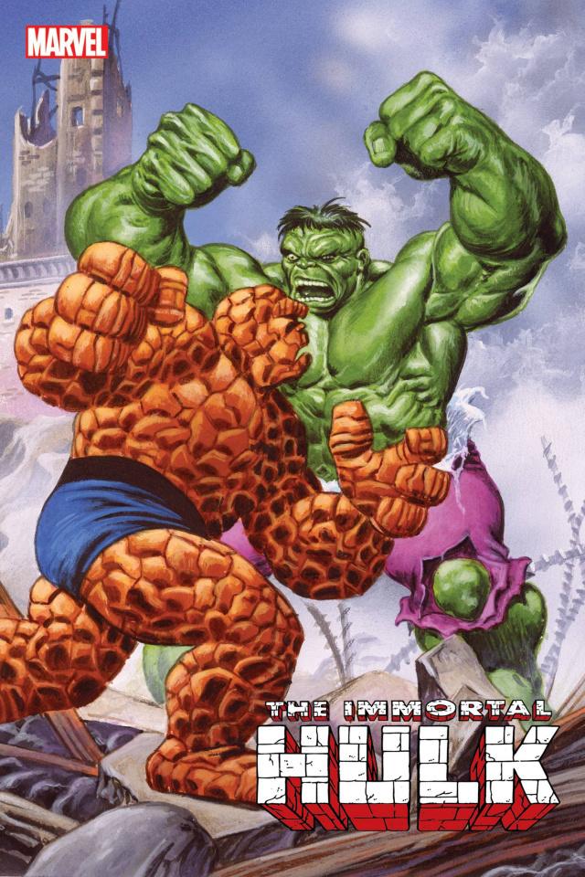 The Immortal Hulk #50 (Jusko Marvel Masterpieces Cover)