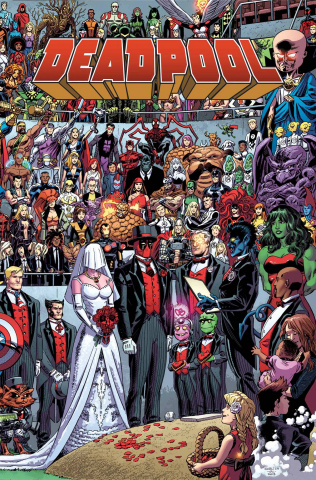 The Wedding of Deadpool #1 (True Believers)