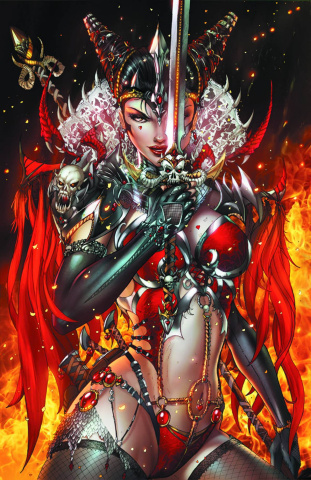 Grimm Fairy Tales: Quest #3 (Tyndall Cover)