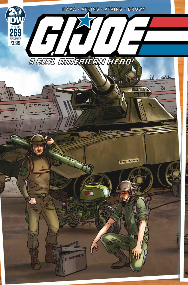 G.I. Joe: A Real American Hero #269 (Sullivan Cover)