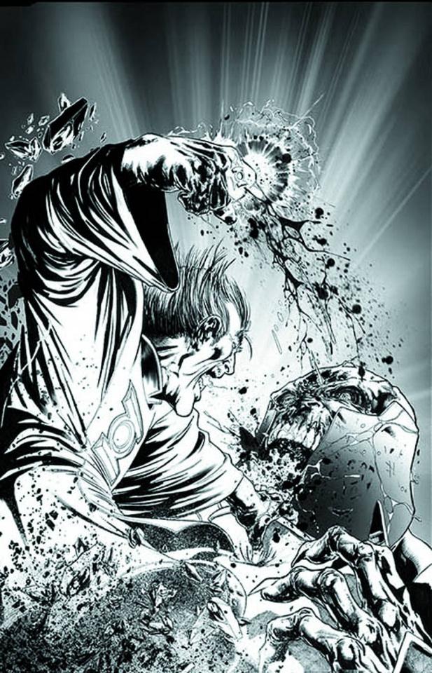 Red Lanterns #17 (Black & White Cover)