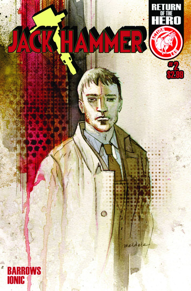Jack Hammer #2 (Weldele Cover)