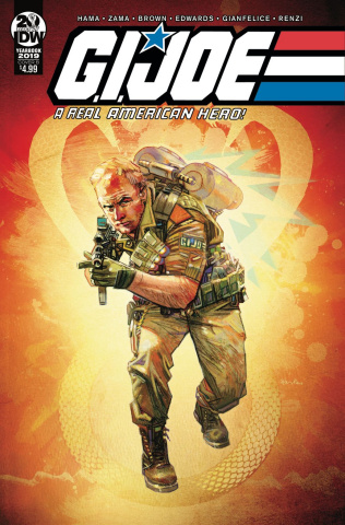 G.I. Joe: A Real American Hero 2019 Yearbook (Edwards Cover)