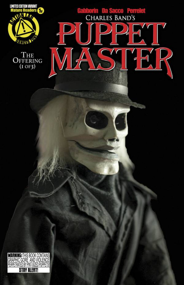 Puppet Master #1 (Blade Photo Cover)