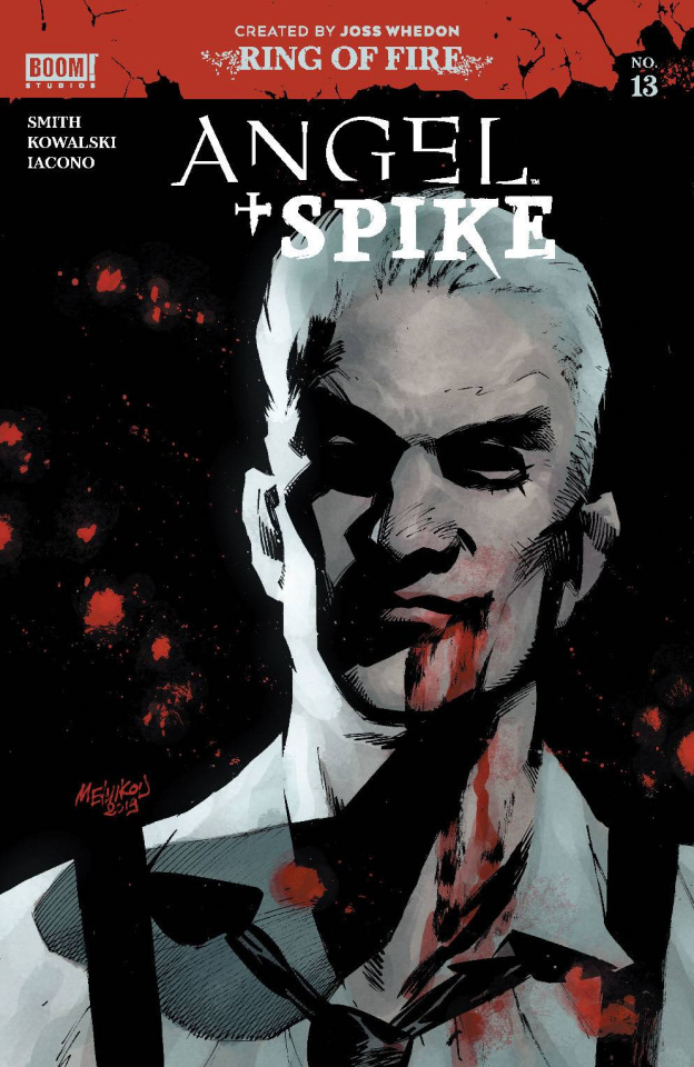 Angel & Spike #13 (Melkinov Cover)