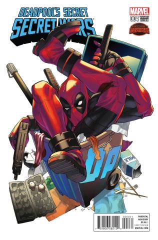 Deadpool's Secret Secret Wars #4 (Manga Cover)