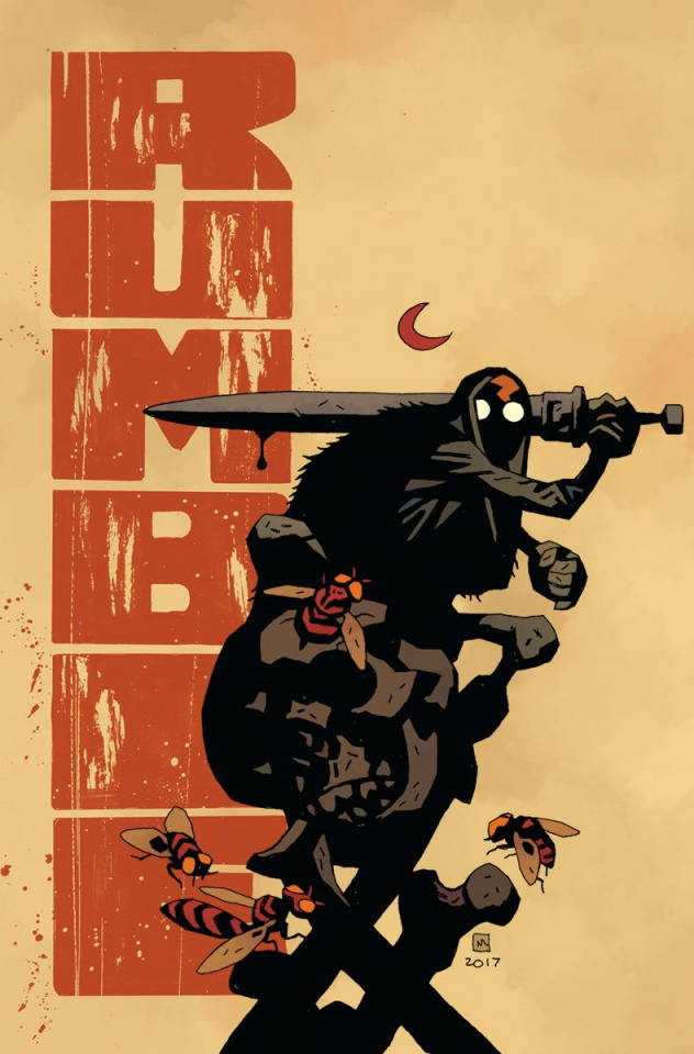 Rumble #1 (Mignola & Stewart Cover)