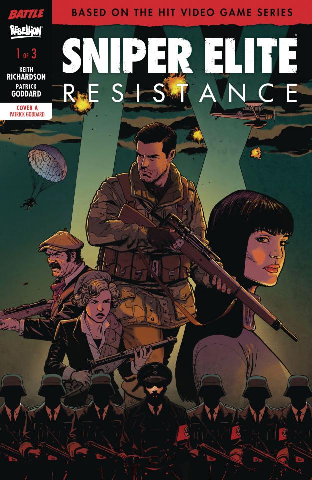Sniper Elite: Resistance #1 (Goddard Cover)
