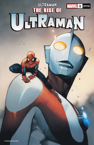 The Rise of Ultraman #1 (Coipel Spider-Man Cover)