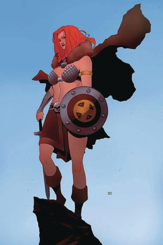 Red Sonja #12 (40 Copy Pham Virgin Cover)