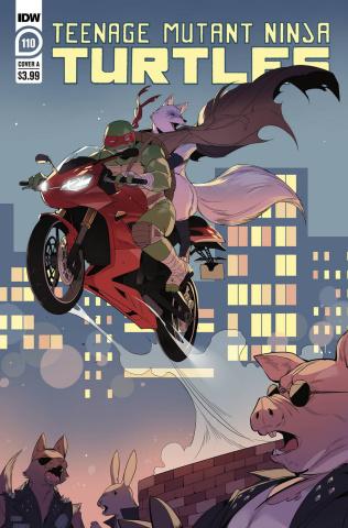 Teenage Mutant Ninja Turtles #110 (Nishijima Cover)