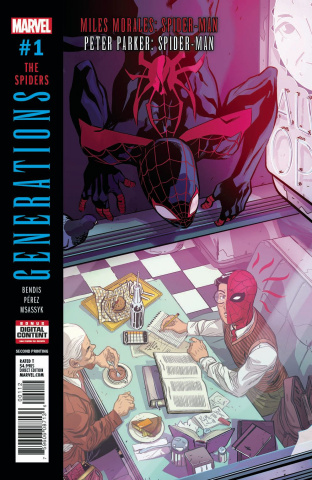 Generations: Miles Morales & Parker - Spider-Man #1 (2nd Printing)
