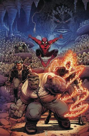 The Immortal Hulk #4 (Adams Return of Fantastic Four Cover)