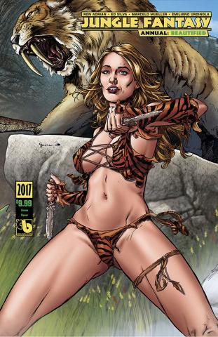 Jungle Fantasy Annual 2017 (Beautified Fauna Cover)