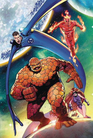 Deadpool #3 (Liefeld Return of Fantastic Four Cover)