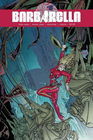 Barbarella #5 (Kaluta Cover)