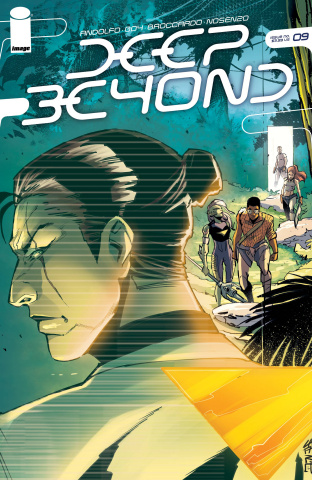 Deep Beyond #9 (Cafaro Cover)