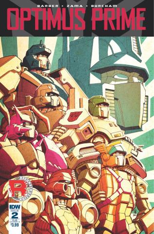 Optimus Prime #2 (Subscription Cover)