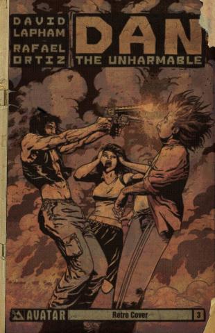 Dan the Unharmable #3 (Retro Cover)