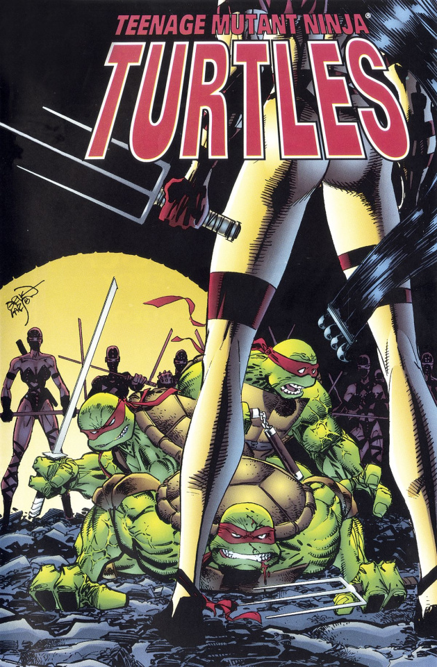 Teenage Mutant Ninja Turtles: Urban Legends #2 (Fosco Cover)