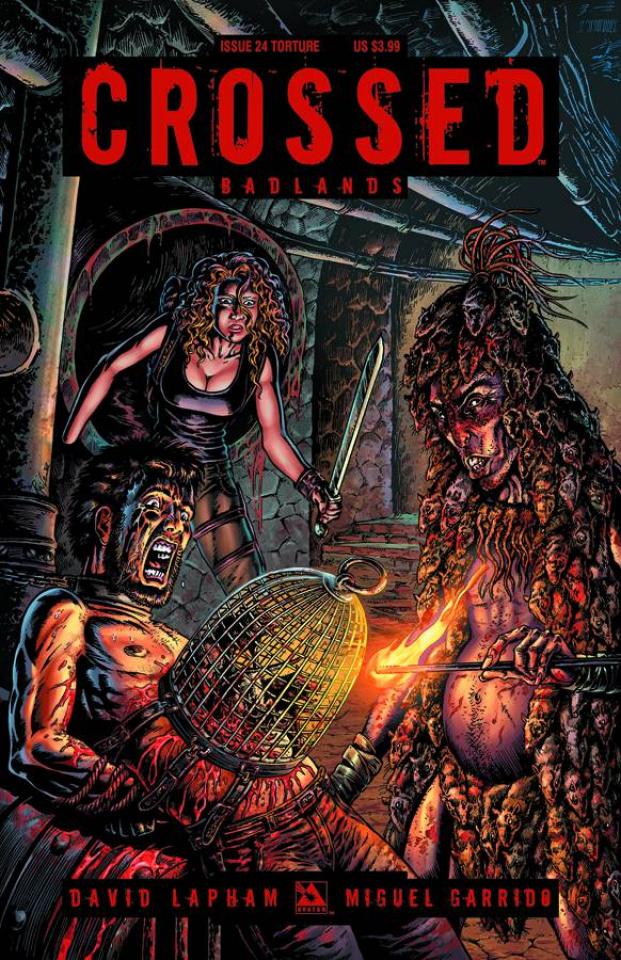 Crossed: Badlands #24 (Torture Cover)