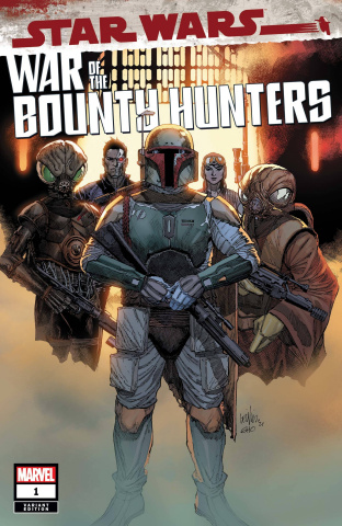 Star Wars: War of the Bounty Hunters #1 (Yu Cover)