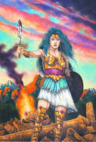 Sensation Comics Featuring Wonder Woman #10