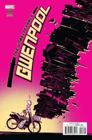 Gwenpool #4 (Wu Cover)