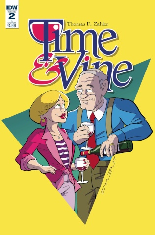 Time & Vine #2 (Zahler Cover)