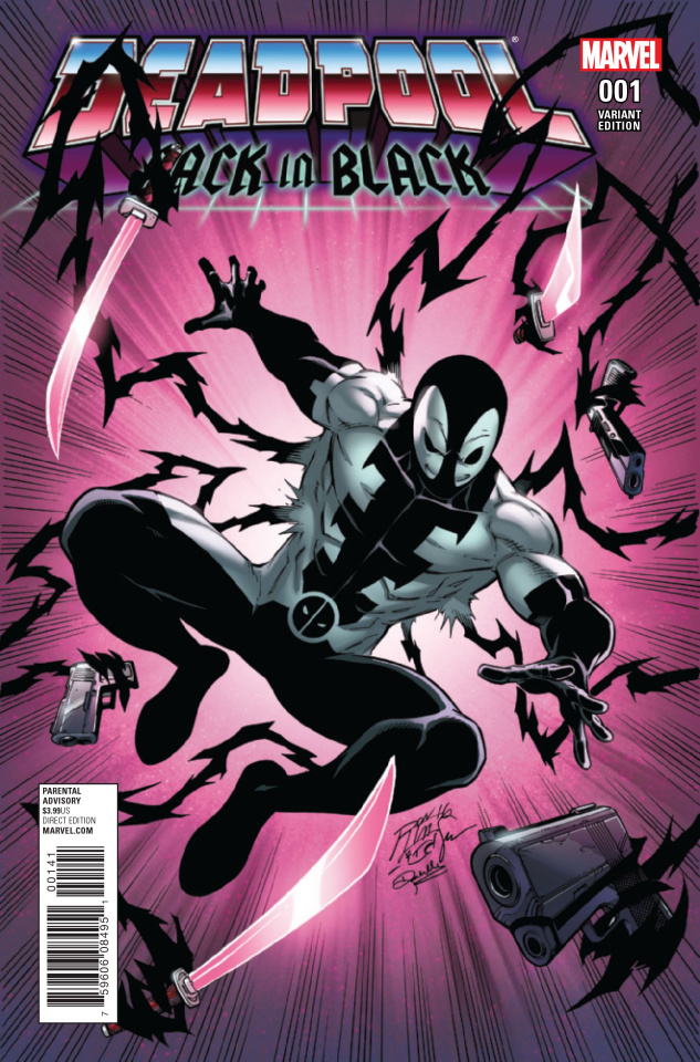 Deadpool: Back in Black #1 (Lim Cover)