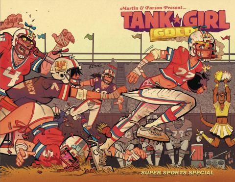 Tank Girl: Gold #2 (Parson Cover)