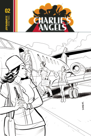 Charlie's Angels #2 (10 Copy Eisma B&W Cover)