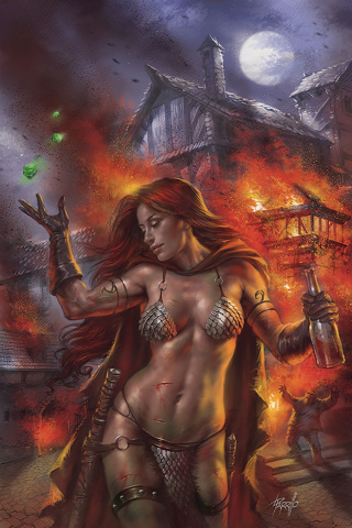 Red Sonja: Birth of the She-Devil #1 (Parrillo Virgin Cover)